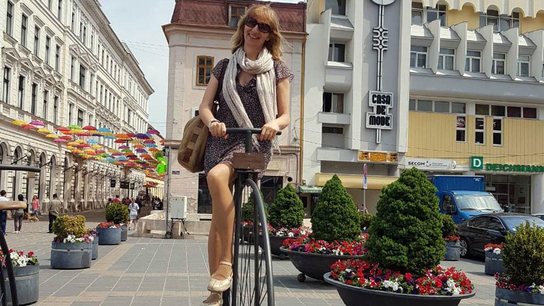 ja na velosipedu
